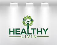 Healthy Livin Logo - Entry #161