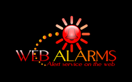 Logo for WebAlarms - Alert services on the web - Entry #67