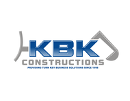 KBK constructions Logo - Entry #129