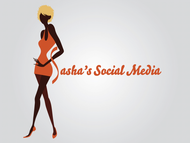 Sasha's Social Media Logo - Entry #123