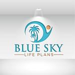 Blue Sky Life Plans Logo - Entry #203