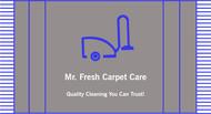 Mr. Fresh Carpet Care Logo - Entry #101