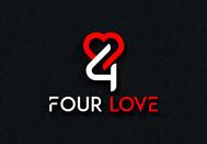 Four love Logo - Entry #109