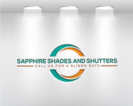 Sapphire Shades and Shutters Logo - Entry #188