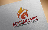 Acadiana Fire Extinguisher Sales and Service Logo - Entry #41
