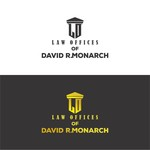 Law Offices of David R. Monarch Logo - Entry #15