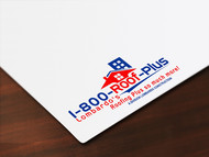 1-800-Roof-Plus Logo - Entry #168