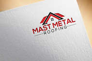 Mast Metal Roofing Logo - Entry #191