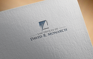 Law Offices of David R. Monarch Logo - Entry #170