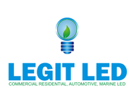 Legit LED or Legit Lighting Logo - Entry #35