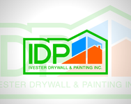 IVESTER DRYWALL & PAINTING, INC. Logo - Entry #8