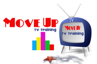 Move Up TV Training  Logo - Entry #73