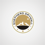 Shepherd Drywall Logo - Entry #256