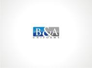 B&A Uniforms Logo - Entry #56