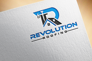 Revolution Roofing Logo - Entry #238