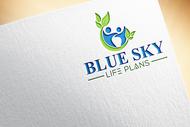 Blue Sky Life Plans Logo - Entry #18