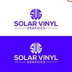 Solar Vinyl Graphics Logo - Entry #148