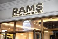 Rams Duty Free + Smoke & Booze Logo - Entry #256