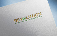 Revolution Roofing Logo - Entry #414
