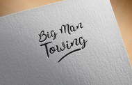 Big Man Towing Logo - Entry #54