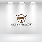 American Diamond Cattle Ranchers Logo - Entry #24