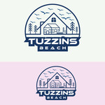 Tuzzins Beach Logo - Entry #232