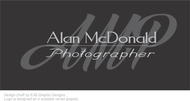 Alan McDonald - Photographer Logo - Entry #78