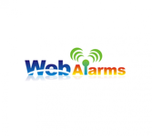 Logo for WebAlarms - Alert services on the web - Entry #19