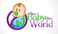 Logo for our Baby product store - Our Baby Our World - Entry #67