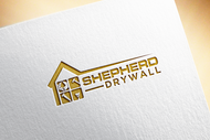 Shepherd Drywall Logo - Entry #139