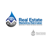 Real Estate Marketing Rainmaker Logo - Entry #38