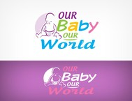 Logo for our Baby product store - Our Baby Our World - Entry #60