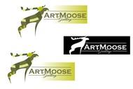 ArtMoose Gallery Logo - Entry #61