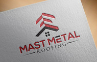Mast Metal Roofing Logo - Entry #257