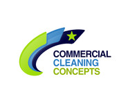 Commercial Cleaning Concepts Logo - Entry #31
