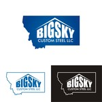 Big Sky Custom Steel LLC Logo - Entry #125