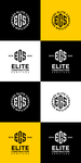 Elite Construction Services or ECS Logo - Entry #98