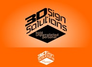 3D Sign Solutions Logo - Entry #166