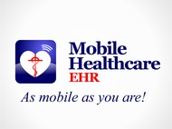 Mobile Healthcare EHR Logo - Entry #71