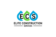 Elite Construction Services or ECS Logo - Entry #236