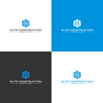Elite Construction Services or ECS Logo - Entry #78