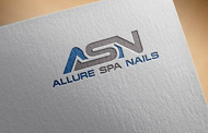 Allure Spa Nails Logo - Entry #46