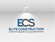 Elite Construction Services or ECS Logo - Entry #175