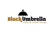 Black umbrella coffee & cocktail lounge Logo - Entry #25