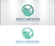 Ana Carolina Fine Art Gallery Logo - Entry #153