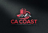 CA Coast Construction Logo - Entry #8