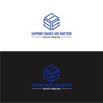 Sapphire Shades and Shutters Logo - Entry #46