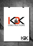 KBK constructions Logo - Entry #28