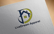 LiveDream Apparel Logo - Entry #268