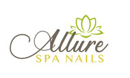 Allure Spa Nails Logo - Entry #74